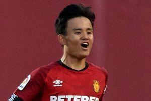 Kubo ghi bàn giúp Mallorca mở ra hy vọng trụ hạng