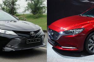 Mazda6 2.5L Premium 2020 và Toyota Camry 2.5Q - chọn sedan hạng D nào?