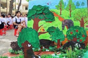 Cùng bảo vệ gấu qua nét vẽ của học sinh