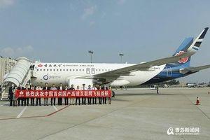 Trung Quốc thử nghiệm thành công máy bay có internet vệ tinh tốc độ cao