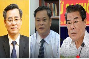 Chân dung 3 Bí thư Tỉnh ủy được Bộ Chính trị điều động về Trung ương