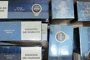 Dùng xe thư báo chở 4 vạn bao thuốc lá lậu