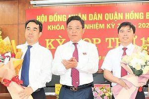 Ông Nguyễn Minh Tuấn được bầu giữ chức vụ Chủ tịch UBND quận Hồng Bàng