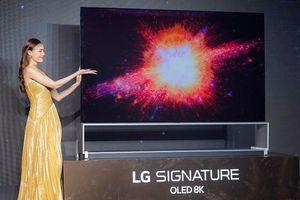 TV OLED 8K đầu tiên có mặt tại thị trường Việt