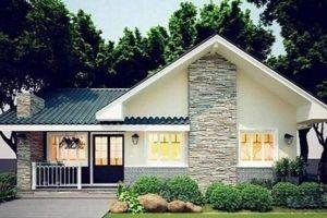 Mẫu nhà đẹp 2020 phổ biến với nhà cấp 4 và kiểu nhà tầng