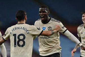 Bruno - Pogba cùng tỏa sáng, Man Utd cách Top 4 đúng 1 điểm