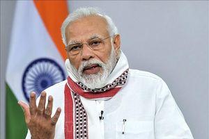 Thủ tướng Ấn Độ cam kết đưa nền kinh tế hiệu quả, cạnh tranh hơn