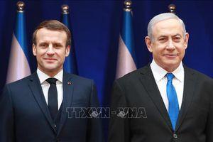 Pháp kêu gọi Israel từ bỏ kế hoạch sáp nhập khu Bờ Tây