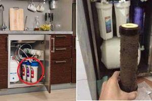 4 sai lầm khi sử dụng biến máy lọc nước thành 'ổ vi khuẩn' gây bệnh cho cả nhà