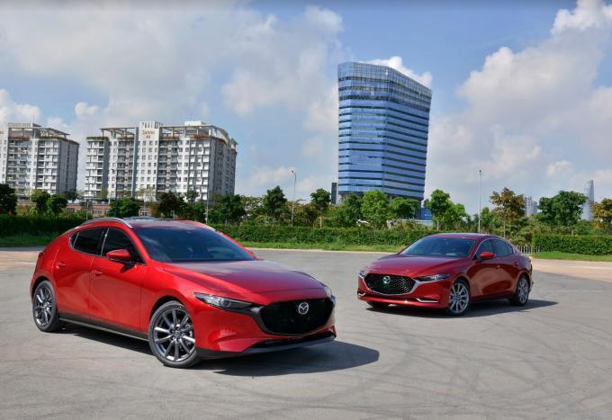 Mazda3 bản 2020 bị triệu hồi do lỗi hệ thống phanh