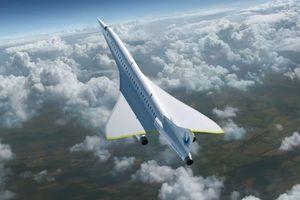 Ra mắt mẫu máy bay phản lực siêu thanh thế hệ mới