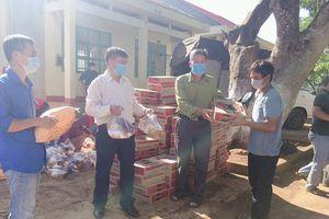 Gia Lai: Làng Bông Hiot được tiếp tế nhu yếu phẩm