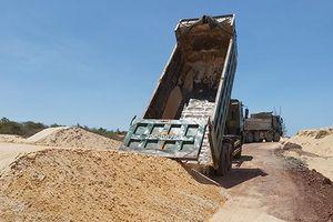 Phạt Công ty CP Free Land 100 triệu đồng vì khai thác cát trái phép