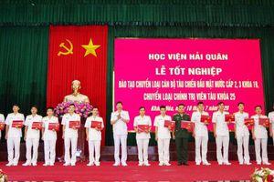 Học viện Hải quân tổ chức lễ bế giảng 2 lớp đào tạo theo chức vụ