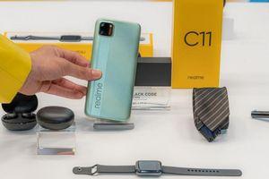 Realme ra mắt hệ sinh thái sản phẩm AIoT và smartphone Realme C11