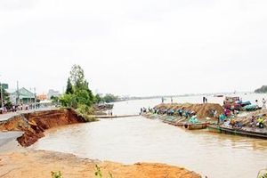 Giải bài toán sạt lở ở Tây Nam Bộ: Truy đúng nguyên nhân, có giải pháp hiệu quả