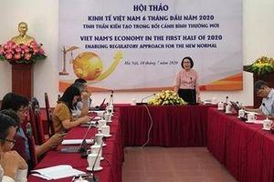 Kinh tế Việt Nam tinh thần kiến tạo trong bối cảnh mới