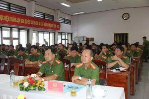 Tập huấn quản lý Nhà nước và tuyên truyền PCCC cho Công an 4 tỉnh