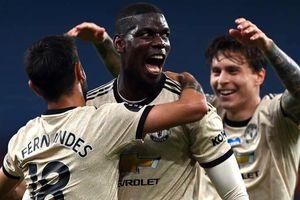 Paul Pogba ghi bàn, MU thắng thuyết phục Aston Villa