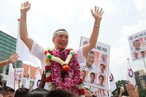 Đảng của ông Lý Hiển Long thắng lớn, nắm 89% ghế Quốc hội Singapore