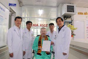 Bệnh nhân số 91 xuất viện, cảm ơn Việt Nam