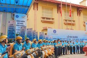 Ra quân hưởng ứng Ngày BHYT Việt Nam