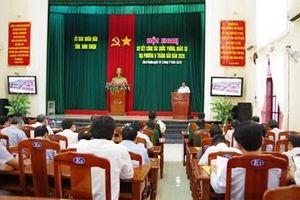 Ninh Thuận triển khai nhiệm vụ quốc phòng, quân sự địa phương 6 tháng cuối năm 2020