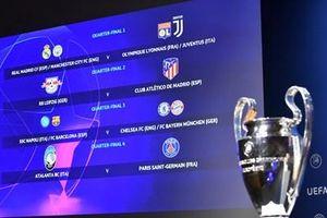 Bốc thăm tứ kết Champions League: Xuất hiện nhiều cặp thư hùng