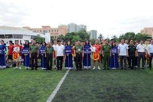Khai mạc Giải Bóng đá mùa hè 2020 tranh Cúp Báo Công an nhân dân