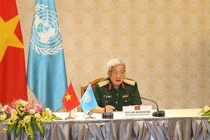 Thượng tướng Nguyễn Chí Vịnh điện đàm với Phó Tổng Thư ký Liên hợp quốc