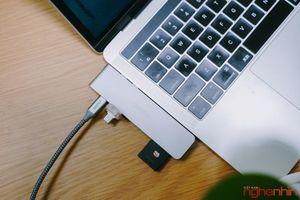 Mua thử hub và dây sạc Choetech cho MacBook Pro: hoàn thiện tốt, kết nối ổn định