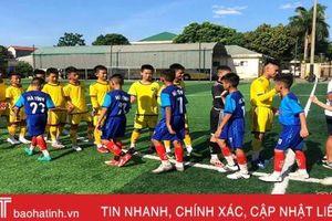 U13 Hà Tĩnh dự vòng loại Giải Bóng đá thiếu niên toàn quốc