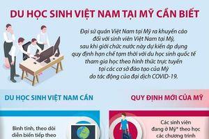ĐSQ Việt Nam tại Mỹ đưa ra khuyến cáo với du học sinh