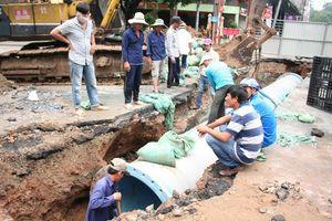 Sẽ tiến hành cúp nước tại các quận trung tâm TP. Hồ Chí Minh