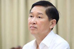 Thủ tướng tạm đình chỉ công tác Phó chủ tịch UBND TP. HCM Trần Vĩnh Tuyến