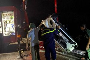 Ô tô lao xuống biển ở Quảng Ninh: Nạn nhân thứ tư đã tử vong