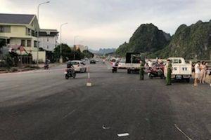 Ủy ban ATGT Quốc gia kiểm tra hiện trường vụ ô tô lao xuống biển Quảng Ninh