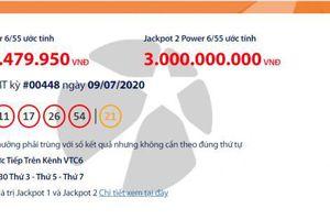 Kết quả xổ số Vietlott Power 6/55 tối ngày 11/7/2020: 'Nổ' tiếp hơn 75 tỉ đồng?