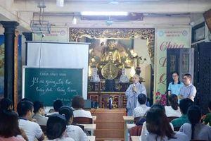 Hà Nội : Chùa Đình Quán mở lớp ngoại ngữ miễn phí