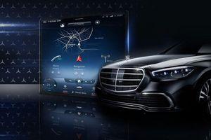 Mercedes S-Class 2021 ra mắt màn hình MBUX 'khổng lồ' mới