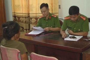 Công an triệu tập 1 phụ nữ liên quan vụ cháy rừng ở Nghệ An