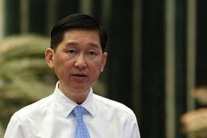 Tạm đình chỉ công tác Phó Chủ tịch UBND thành phố Hồ Chí Minh Trần Vĩnh Tuyến