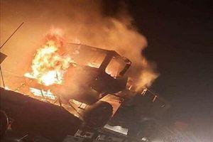 Đoàn xe quân sự Mỹ nổ tung ở Iraq