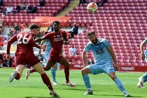 Liverpool hòa vô duyên Burnley 1-1