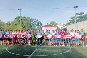 10 đội tranh tài tại Giải Bóng đá CAQ Liên Chiểu