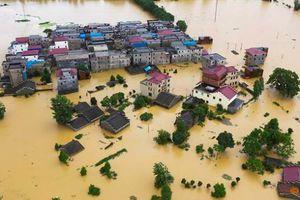 Trung Quốc tiếp tục nâng báo động lũ lụt