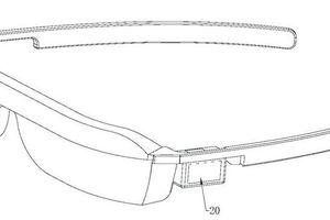 Huawei cấp bằng sáng chế kính AR với camera selfie pop-up