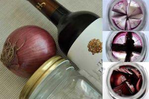 Học người Nhật ngâm rượu hành tây có thể chữa khỏi 3 căn bệnh phổ biến