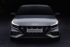 Hyundai hé lộ thêm hình ảnh Elantra N Line 2021, chờ ngày ra mắt