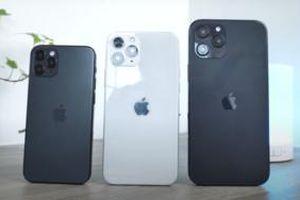 Bộ ba iPhone 12 lại xuất hiện trong một video mới với thiết kế cực kì ấn tượng